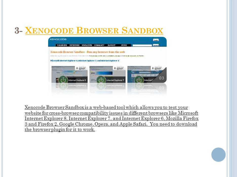 2- B ROWSERCAMPB ROWSERCAMP BrowserCamp provides free screenshots for the Safari browser only on MAC OS.