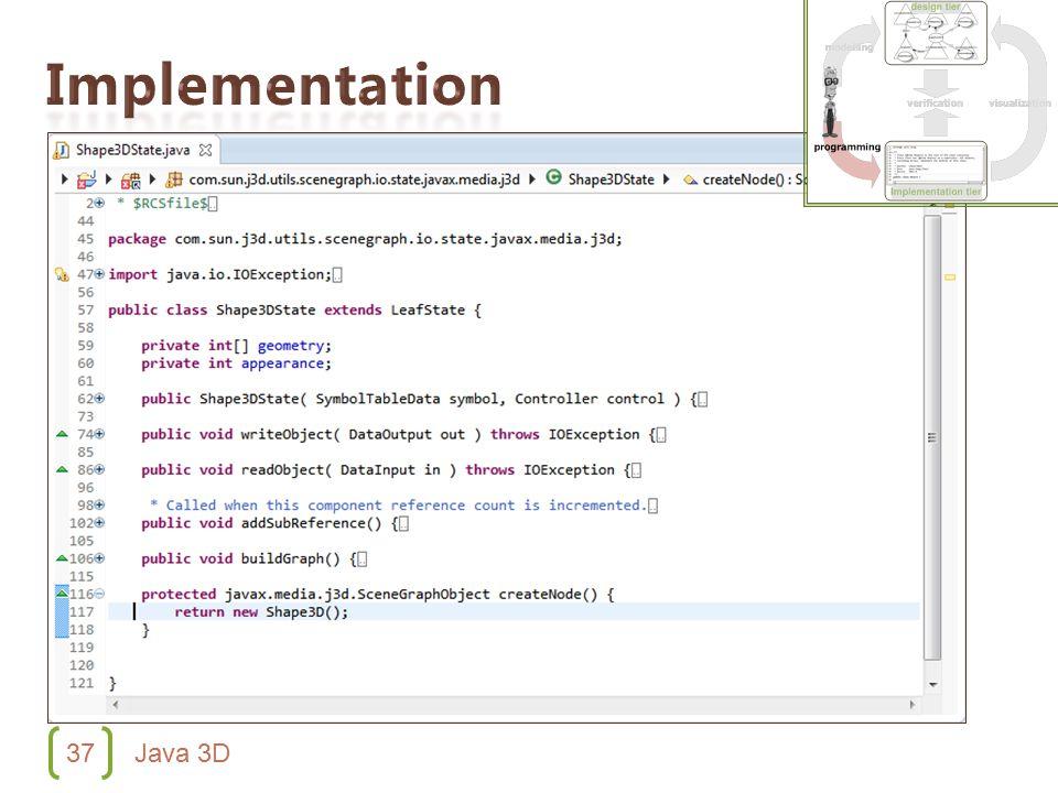 37 Java 3D