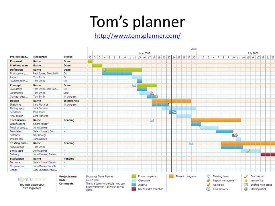 Tom's planner http://www.tomsplanner.com/ http://www.tomsplanner.com/