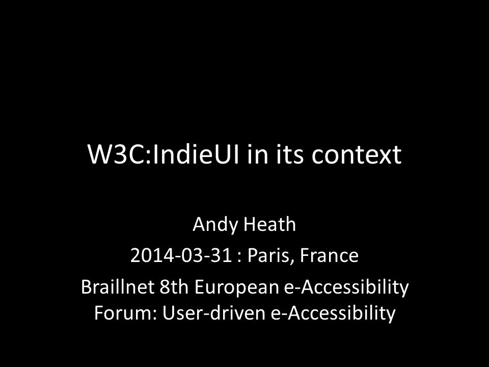 Some Models 11 User Needs Instead of arthritic wrists, can't turn handle Needs handle that can be turned with low force Can optimise designs and deliveries for individual users Route 2
