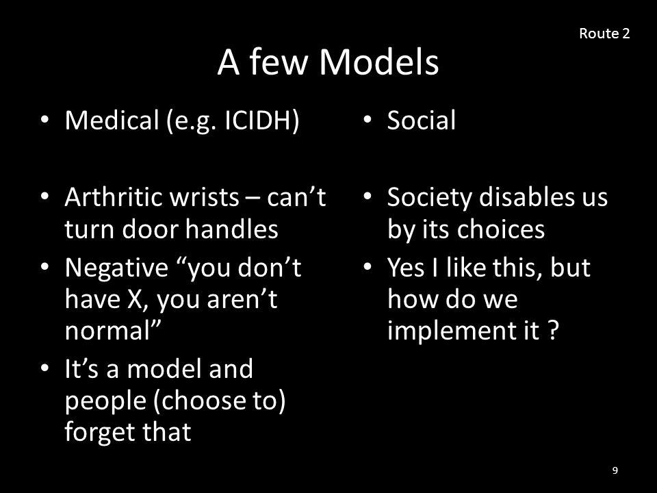 A few Models Medical (e.g.