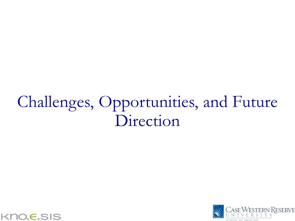 Challenges, Opportunities, and Future Direction