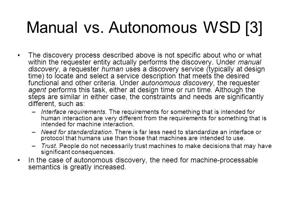 Manual vs.