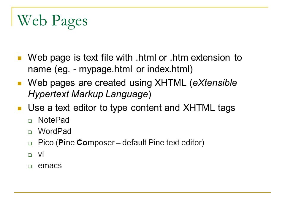 HTML Tag - Paragraph … Use the paragraph tag to break text into paragraphs Enclose block of text with beginning and ending paragraph tags (ending tag is considered optional using HTML but not with XHTML) Example: This is the title sentence for the first paragraph.