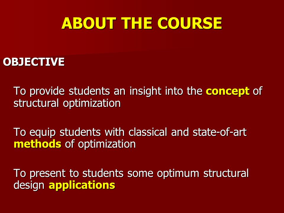 CORE CONTENTS W1.Overview (concepts, terminologies, classifications, examples) W2.