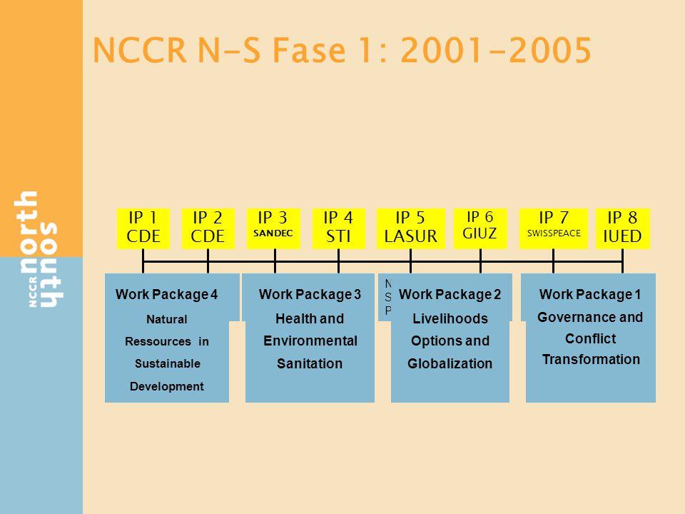 NCCR - NS Estructura de la Fase 2
