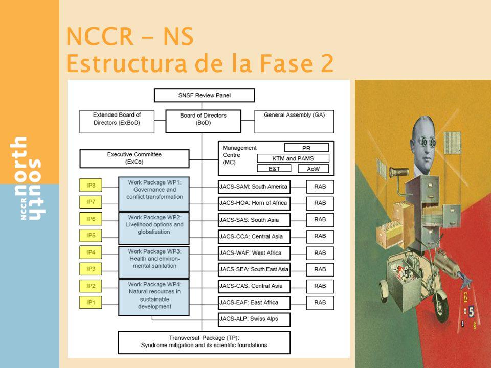 1 a fase: Colaboración IPs - JACS