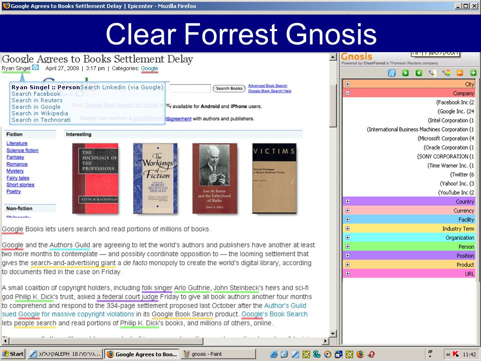 Clear Forrest Gnosis