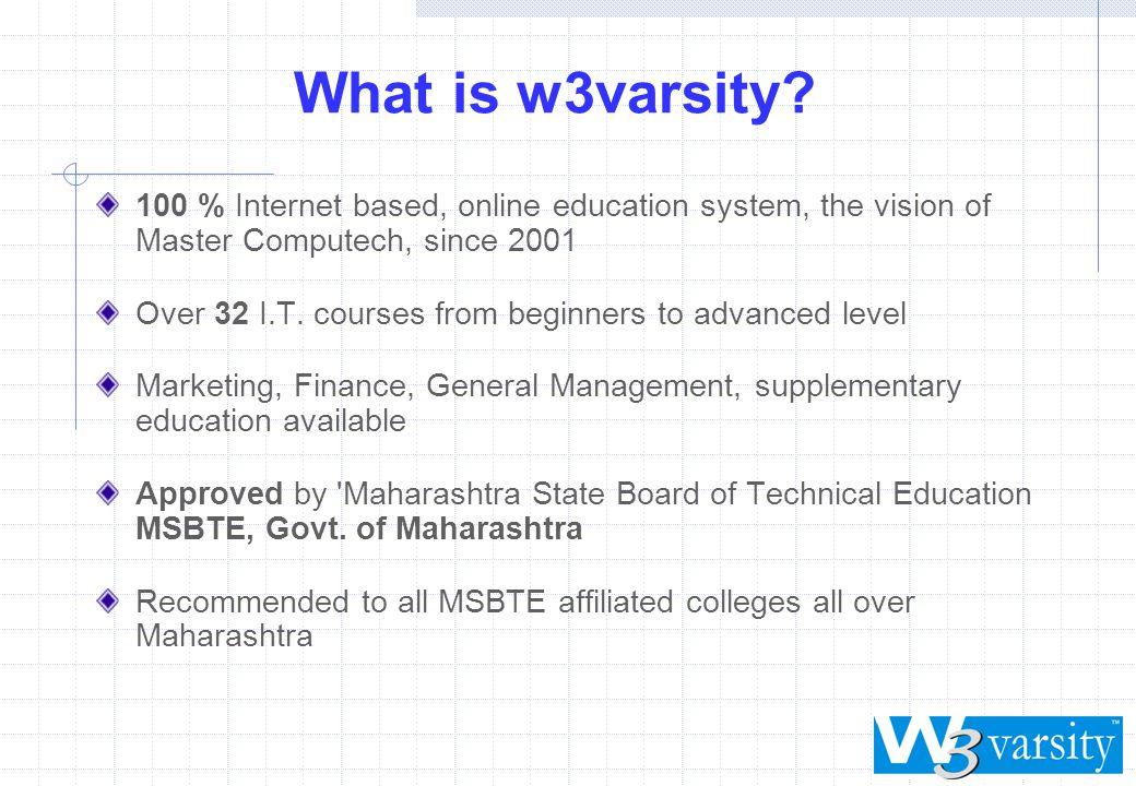 What is w3varsity.