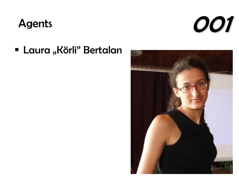 """ Laura """"Körli"""" Bertalan Agents 001"""
