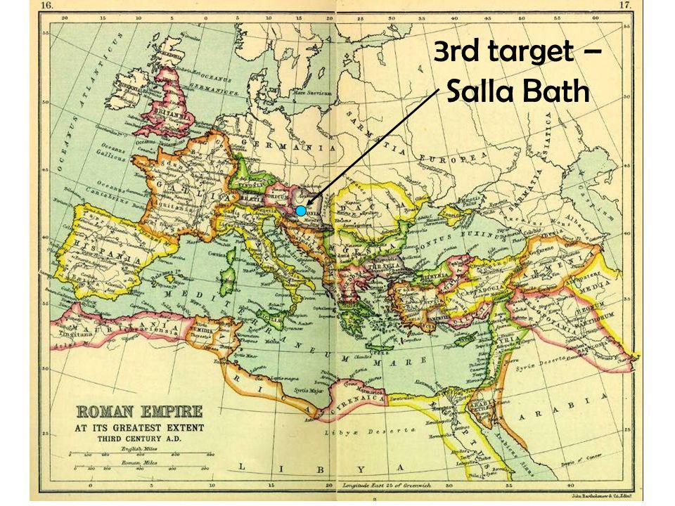 3rd target – Salla Bath