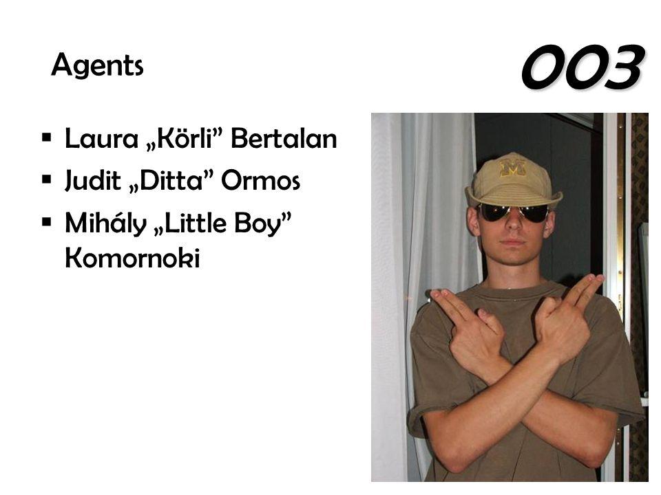 " Laura ""Körli"" Bertalan  Judit ""Ditta"" Ormos  Mihály ""Little Boy"" Komornoki Agents 003"