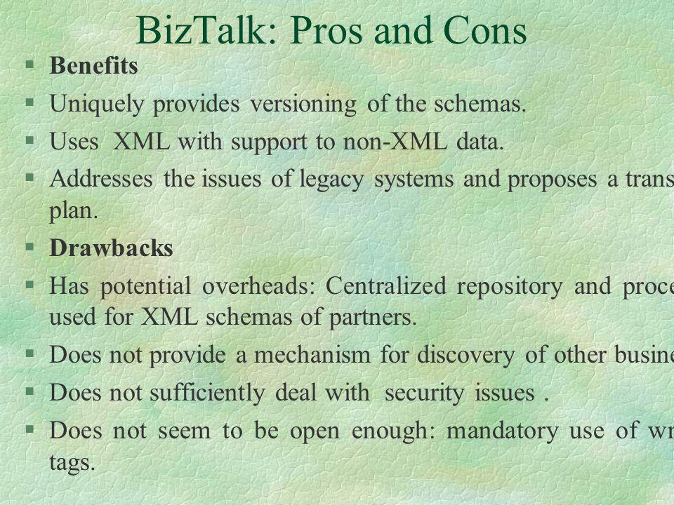 BizTalk: Overview §Primarily a Microsoft work.