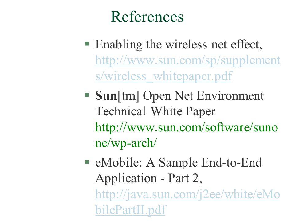 References (Contd..) l Robert J. Glushko, Jay M.