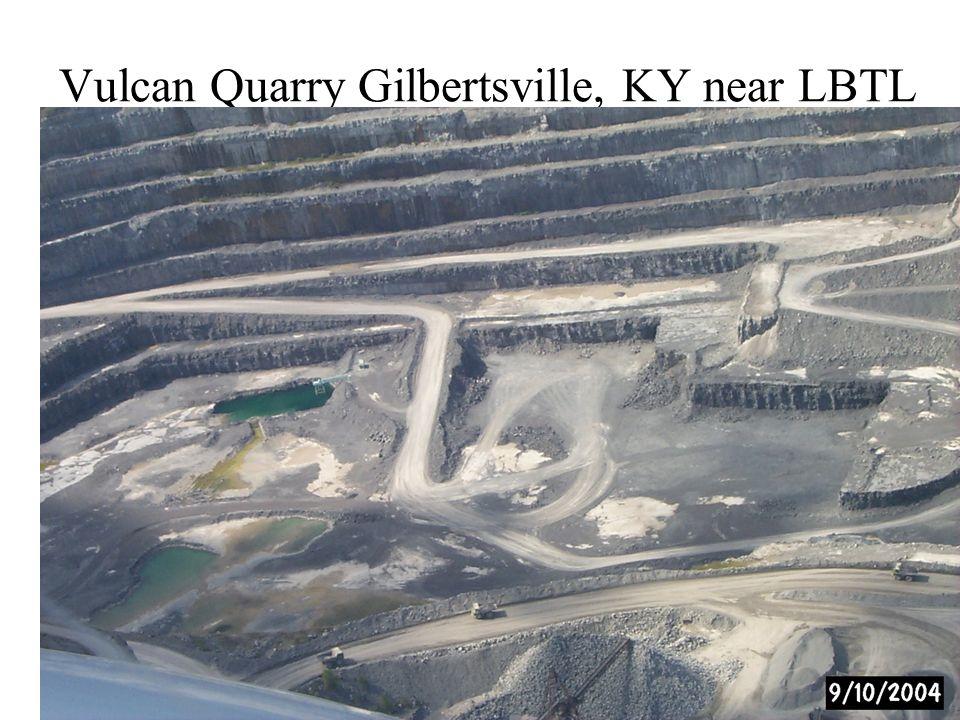 Vulcan Quarry Gilbertsville, KY near LBTL