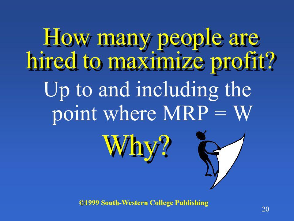 19 MRP MLC = W 1 W1W1 Q1Q1