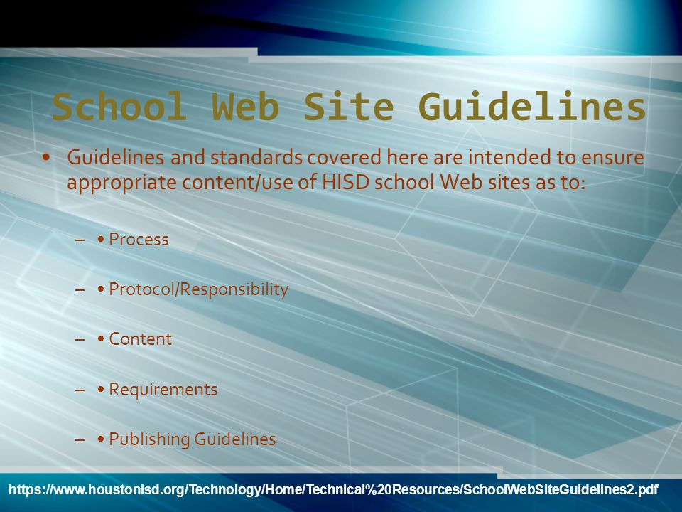 How To Request a Department Web Site on the Portal To request a department Web site on the HISD Portal, contact Marcy Spears, Portal Services Supervis