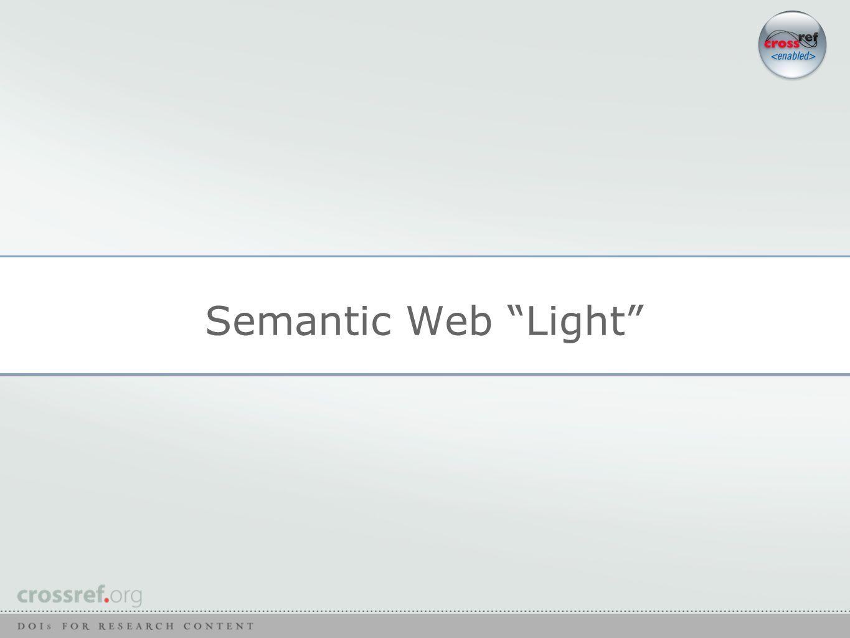Semantic Web Light