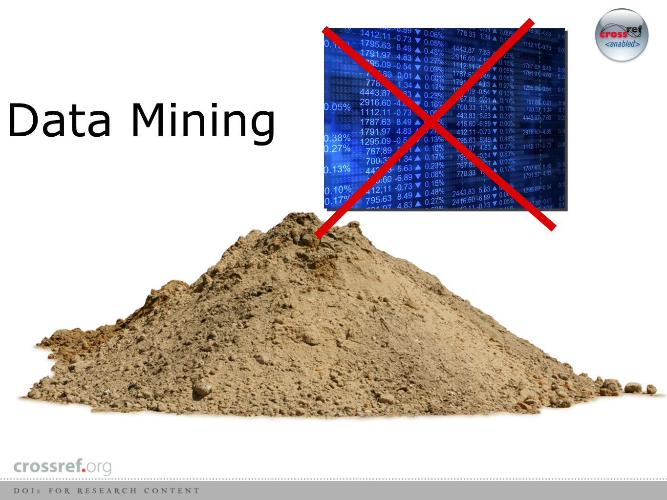 Data Mining- What it isn't