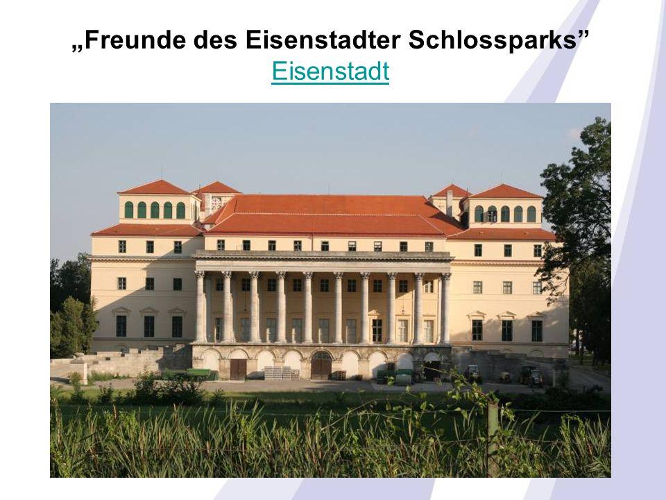 """""""Freunde des Eisenstadter Schlossparks Eisenstadt Eisenstadt"""
