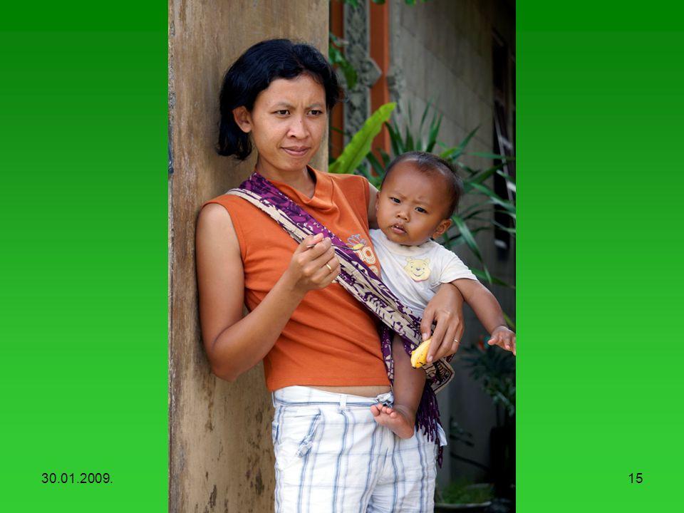 30.01.2009.Balinese people14 Balinese women with children (Penglipuran)