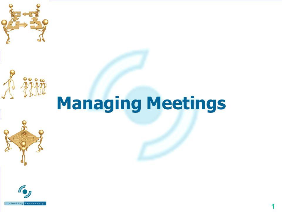 1 Managing Meetings