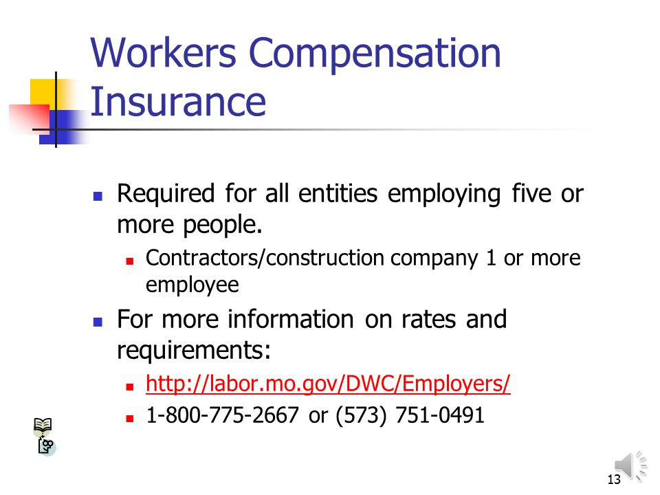 12 Missouri Unemployment Tax Determined when employer completes Form 2699 for unemployment insurance If you are liable, Div. Of Employment Security wi