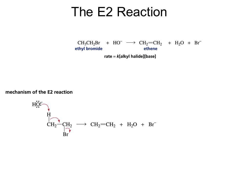 The E2 Reaction
