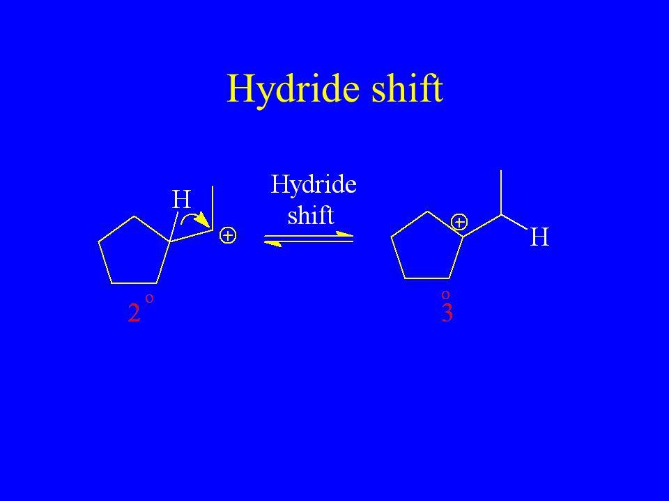 Hydride shift