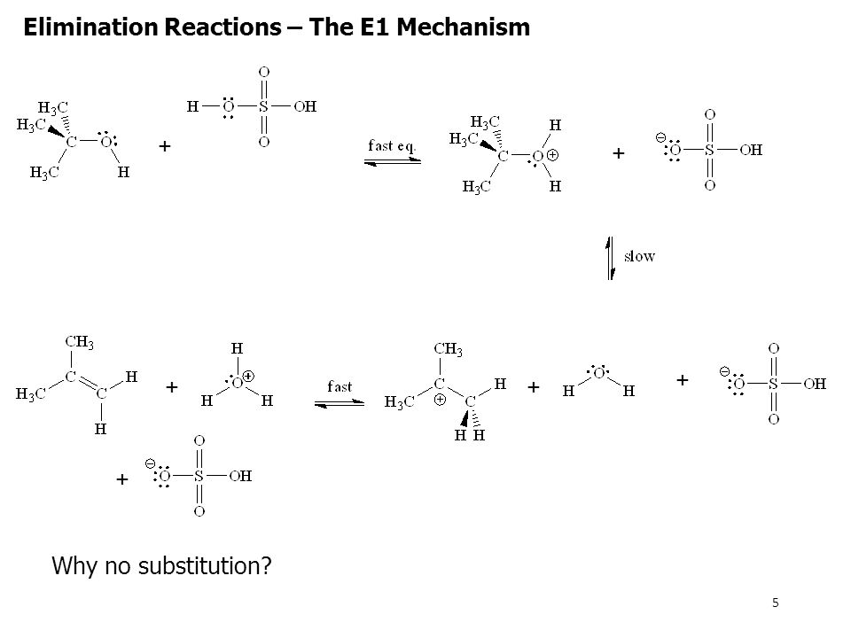E2 Reactions – Preparation of Alkynes Elimination reactions can be used to prepare alkynes: In this reaction, benzyne is formed from the elimination reaction of a substituted benzene.