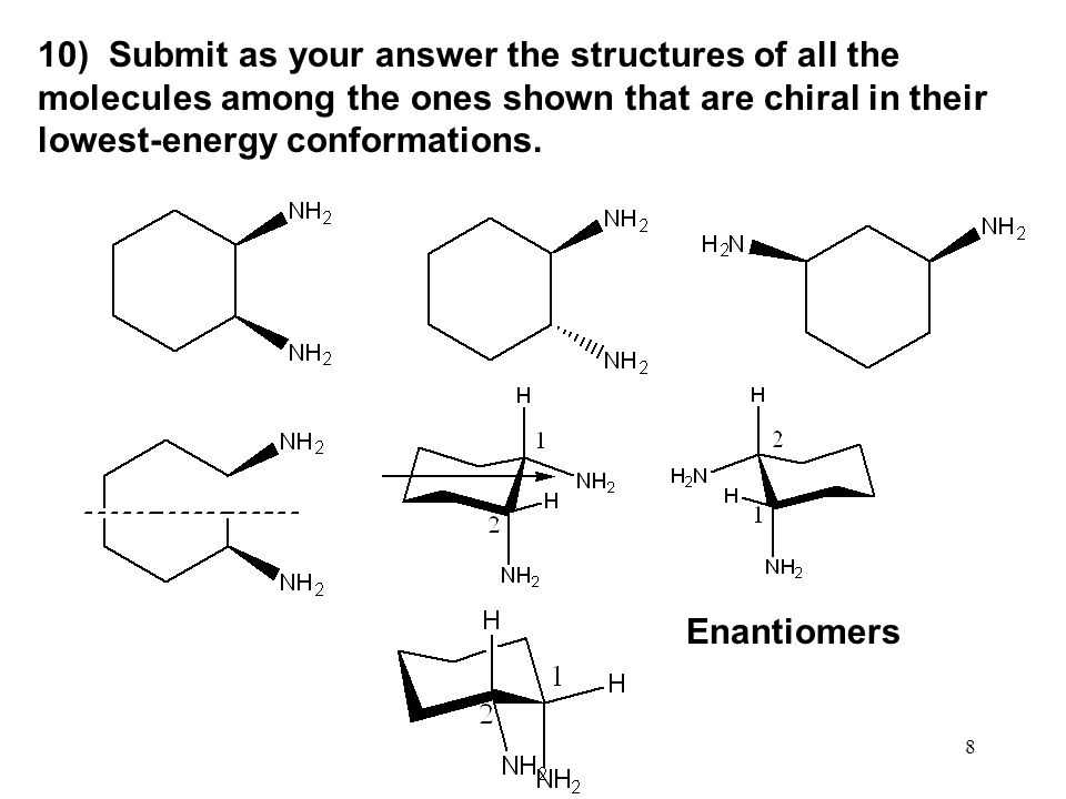 49 Figure 8.8 The trans diaxial geometry for the E2 elimination in chlorocyclohexane