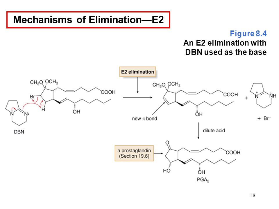 18 Figure 8.4 An E2 elimination with DBN used as the base Mechanisms of Elimination—E2