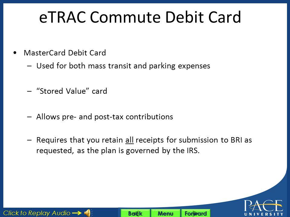 Commuter Reimbursement Accounts (CRA) TransitParking Maximum$230/Monthly + Post- Tax Contribution, if Applicable ExpensesMass TransitParking Expenses