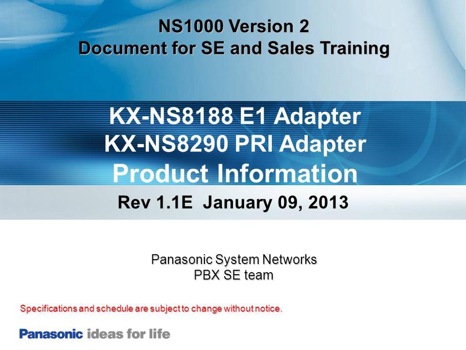 52 57.KX-NS1000 - In Service Set In Service.