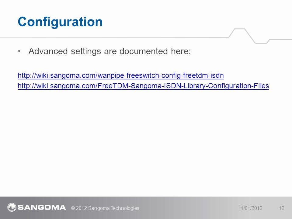 Advanced settings are documented here: http://wiki.sangoma.com/wanpipe-freeswitch-config-freetdm-isdn http://wiki.sangoma.com/FreeTDM-Sangoma-ISDN-Lib