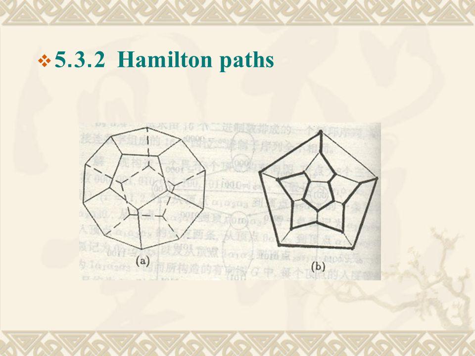  5.3.2 Hamilton paths