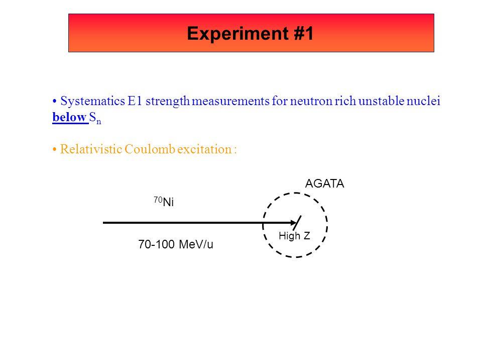 Experiment #3 UHECR campain .
