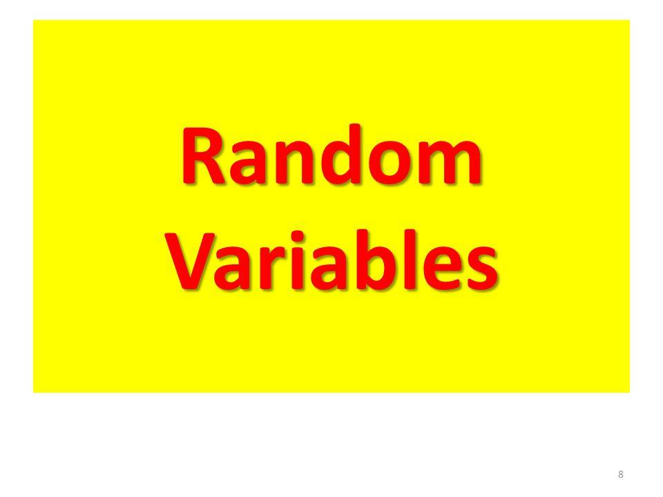 Random Variables 8