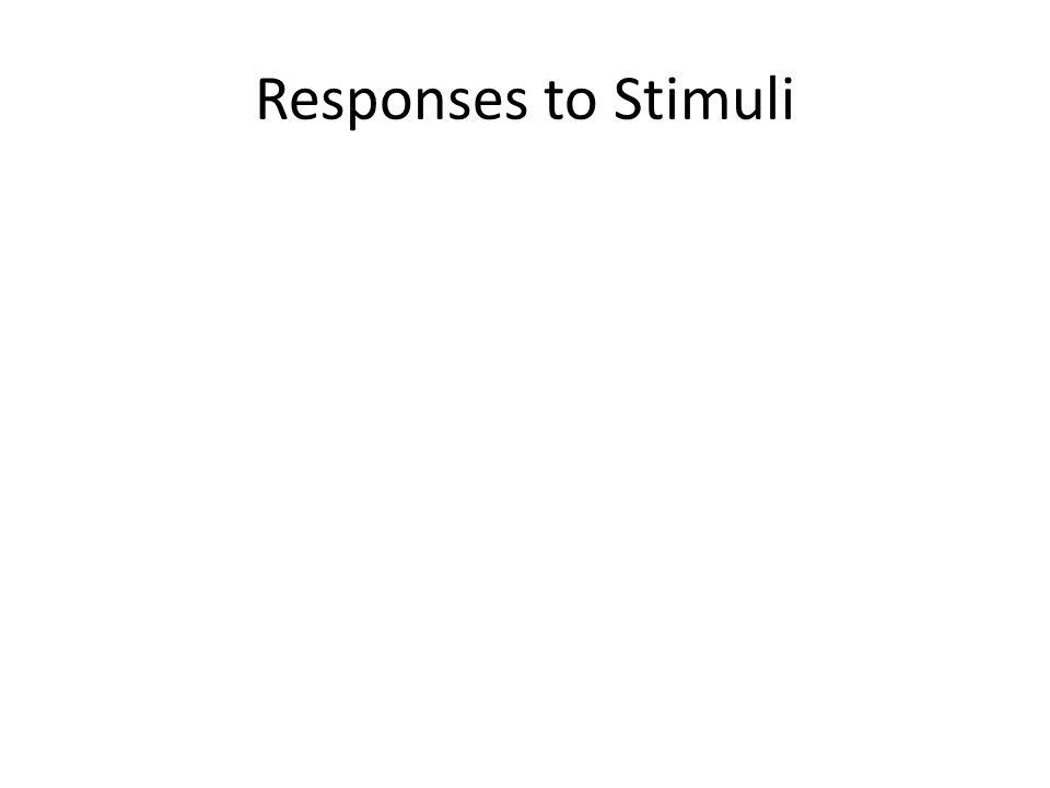 Responses to Stimuli