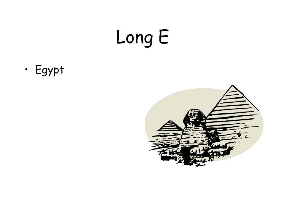 Long E Egypt