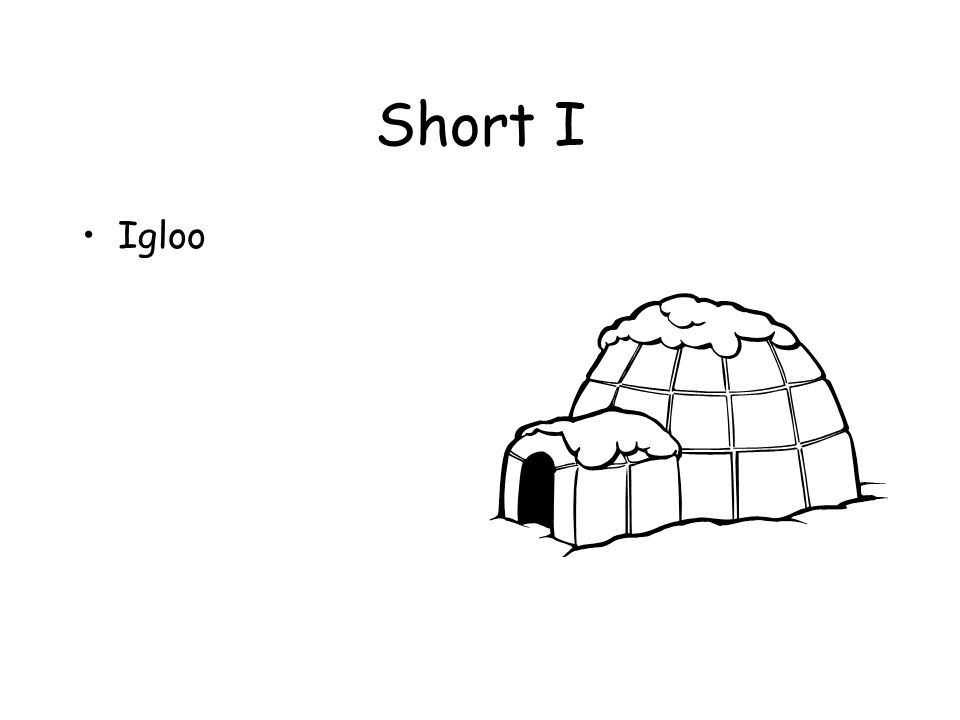 Short I Igloo