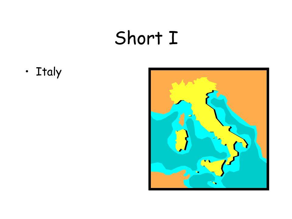 Short I Italy