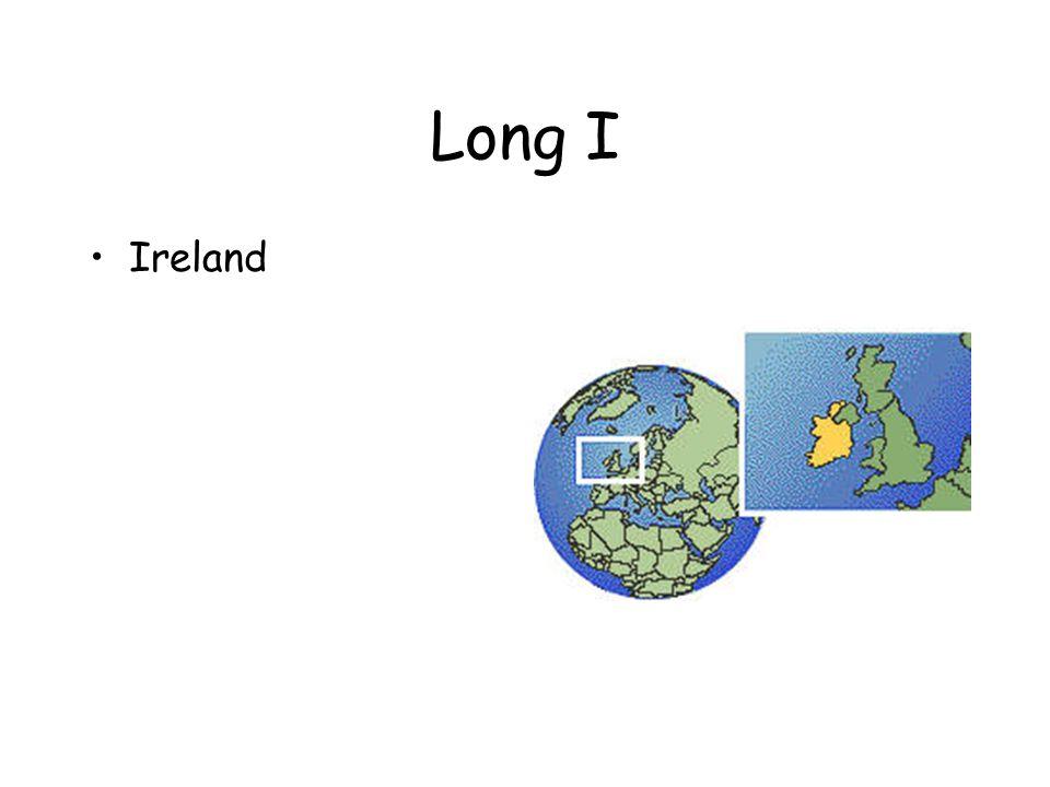 Long I Ireland