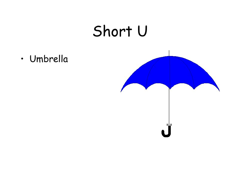 Short U Umbrella