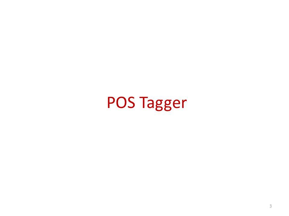 POS Tagger 3