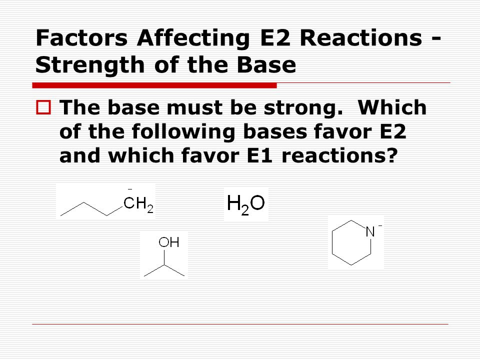 How Do You Decide Which Reaction(s) Happen. Now, look at the structure of the substrate.