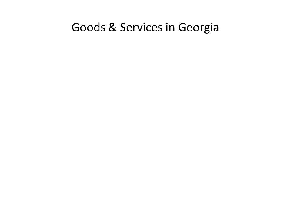 Goods & Services in Georgia
