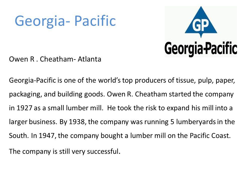 Georgia- Pacific Owen R.
