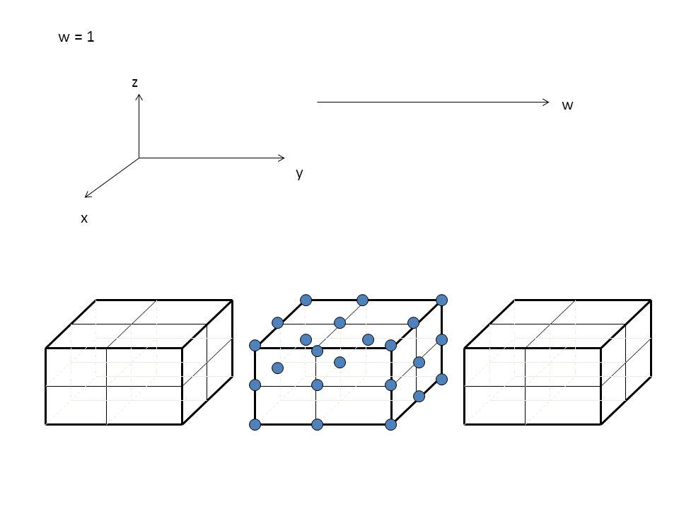 w x y z w = 1
