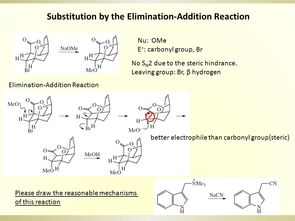 Exercises Please draw the mechanisms of following reaction a. b. c. d. e. CO 2